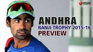 Ranji Trophy 2015-16: Andhra squad and team preview