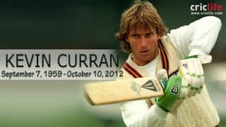 Kevin Curran: 10 interesting things to know about the late Zimbabwean all-rounder