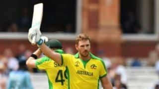 Cricket World Cup 2019: England lose by 64 runs as Aaron Finch, Jason Behrendorff, Mitchell Starc fire Australia to semifinals
