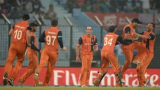 ICC World T20 2016: Netherlands knocked out after match against Oman washed out