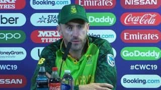 Faf du Plessis proud of battling South Africa but says Williamson held the key