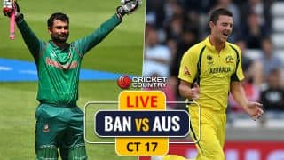 Highlights, Bangladesh vs Australia, ICC Champions Trophy 2017: Match abandoned