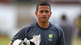 Big Bash League 2015-16: Usman Khawaja declared fit to play for Sydney Thunder