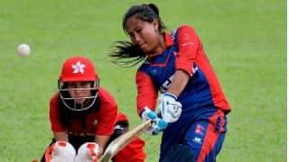 Nepal women's team captain Rubina Chhetri desires to play cricket in Kashmir