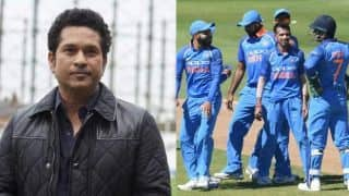 Tendulkar discusses India's chances at World Cup, praises team's ability to be competitive
