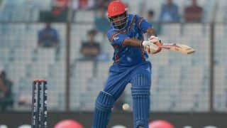 Reckless batting costs Afghanistan in chase of 142