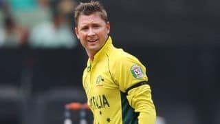 Michael Clarke impresses during Australia-UAE ICC World Cup 2015 match