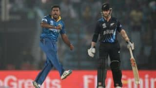Rangana Herath registers third best T20I bowling figures in Sri Lanka's win over New Zealand in ICC World T20 2014