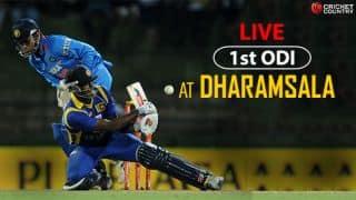 Highlights, IND v SL, 1st ODI at Dharamsala: SL complete convincing 7-wicket win
