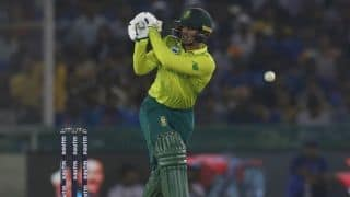 India vs South Africa, 3rd T20I: Quinton de Kock fifty helps south africa to 9 wicket win