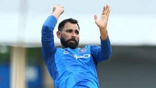 Mohammed Shami suffered