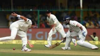 Tea report, India vs New Zealand, 1st Test at Kanpur: India lose momentum after good start