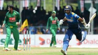BAN vs SL, 3rd ODI at Colombo: Chandimal's bizarre run-out, Prasanna's 'dab' celebration and other highlights