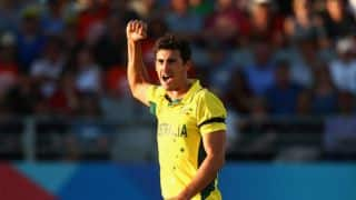 Mitchell Starc drops to 2nd position in ICC ODI rankings