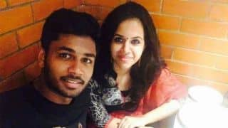 Sanju Samson ties the knot with college classmate Charulatha