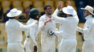 Graeme Cremer's 3-for reduces Sri Lanka to 293/7 at stumps of Day 2 against Zimbabwe in Colombo Test