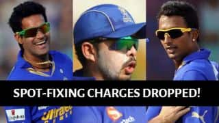 IPL 2013 spot-fixing scandal: Charges against Sreesanth, Chandila and Chavan dropped