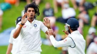 Ishant Sharma rocks New Zealand with triple strike