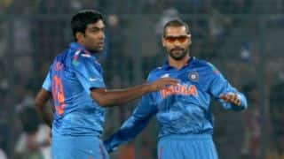ICC Cricket World Cup 2015: Shikhar Dhawan, Ravichandran Ashwin stand-out performers for MS Dhoni