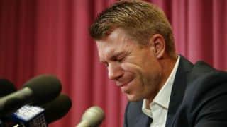 David Warner not to challenge Cricket Australia's sanctions on ball-tampering