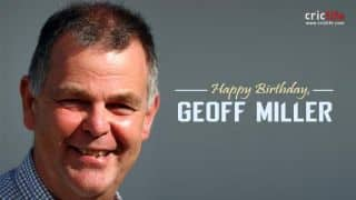Geoff Miller: 15 facts about the England all-rounder