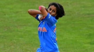 1st T20I: Poonam Yadav puts India Women 1-0 up vs Sri Lanka Women