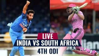 Highlights, India vs South Africa, 4th ODI: SA win