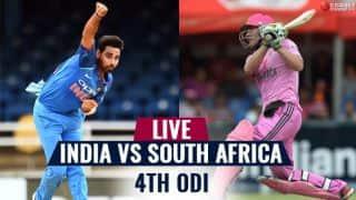 Highlights, India vs South Africa, 4th ODI: SA win