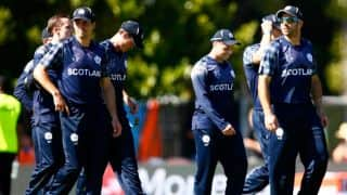 Scotland thrash Canada by 8 wickets, keeps alive their knock-out chances
