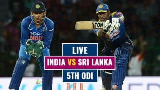Highlights, India vs Sri Lanka 2017, 5th ODI at Colombo: IND win by 6 wkts