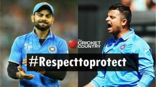 Kohli, Raina, Shastri and Rayudu feature in #Respecttoprotect video