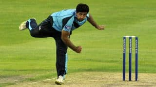 Majid Haq takes five wickets for Scotland