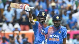 Lokesh Rahul and Rohit Sharma only batsman ever to complete centuries with six across format
