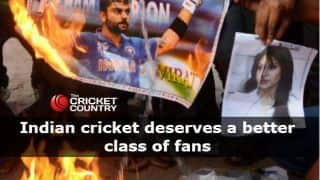 Does the Indian cricket team deserve a better class of fans?
