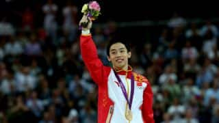 China win three out of five gold medals in Gymnastics