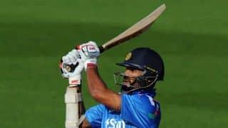 India vs Sri Lanka 2014, 3rd ODI at Hyderabad: Shikhar Dhawan gets 50, completes 2,000 ODI runs