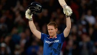 Eoin Morgan becomes first England ODI captain to register four or more consecutive 50-plus scores