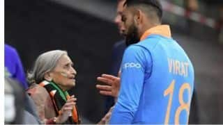 Virat Kohli wants 87-year-old fan Charulata Patel to see him play in the next 2-3 games, promises her match tickets