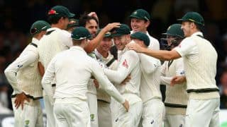 Australia levelling an Ashes series in the second Test after losing the first