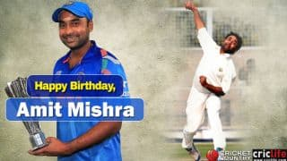 Amit Mishra: Seven interesting facts about India's talented leg-spinner
