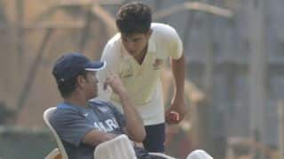 Sachin Tendulkar's son Arjun will face tough competition from Misbah-ul-Haq's lad Faham
