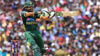 Fawad Alam bowled by Nasir Hossain; Pakistan 59/4 vs Bangladesh in 2nd ODI at Mirpur