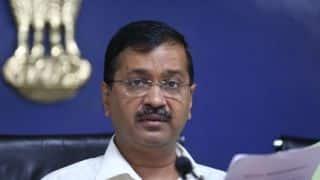 उम्मीद करता हूं प्रदूषण दिल्ली में मैच को प्रभावित नहीं करेगा: अरविंद केजरीवाल
