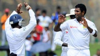 Pakistan crawl to 66/4 at lunch on final day of 1st Test at Galle against Sri Lanka