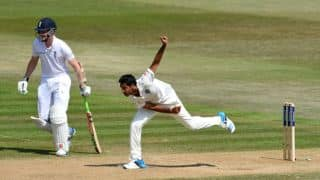Bhuvneshwar Kumar's swollen ankle worries MS Dhoni ahead of 4th Test at Old Trafford