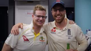 Jack Leach: I did think about having a picture with Steve Smith in my glasses