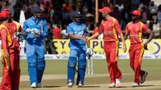 India vs Zimbabwe 2016, 1st ODI at Harare: Visitors Likely XI