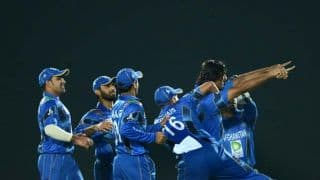Afghanistan vs Sri Lanka Asia Cup 2014 Match 7: Afghanistan on top after quick wickets