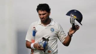 Yuvraj Singh flops in First match of Duleep Trophy