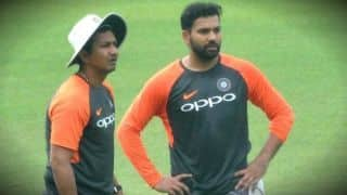 Australian tall bowlers will be a challenge and we are ready to accept that: Rohit Sharma